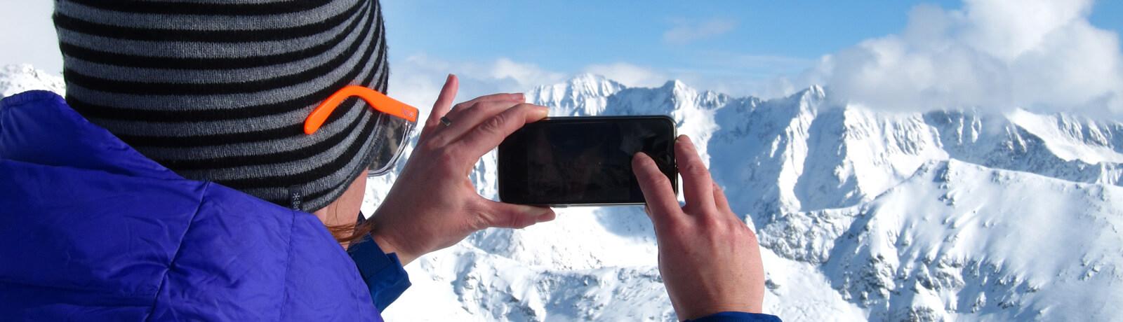 "Beitrag ""Avalanche goes social"" im bergundsteigen #98"
