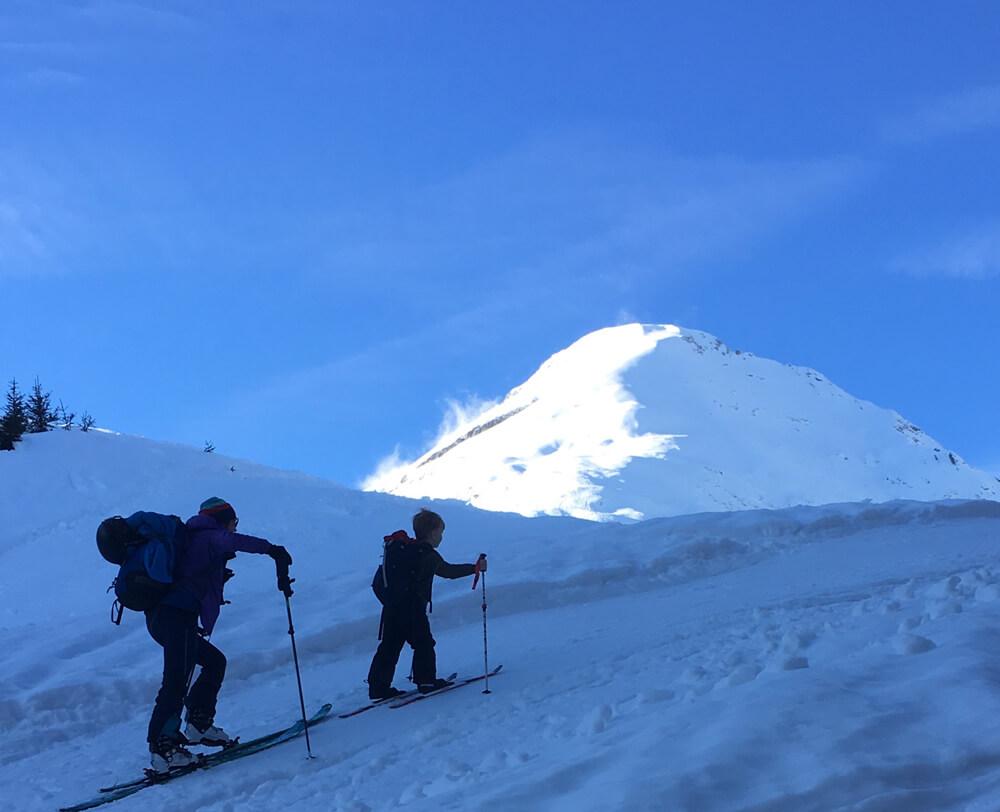 Skitouren mit Kids I alpinonline
