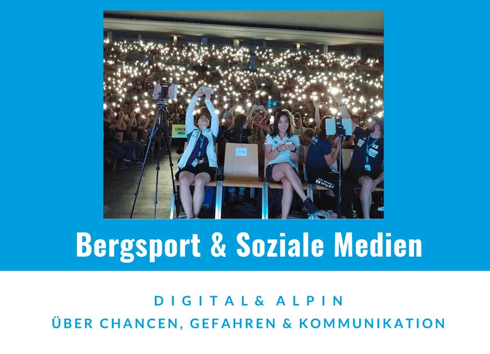 DAV Werkstatt 2018 - Berge und Soziale Medien
