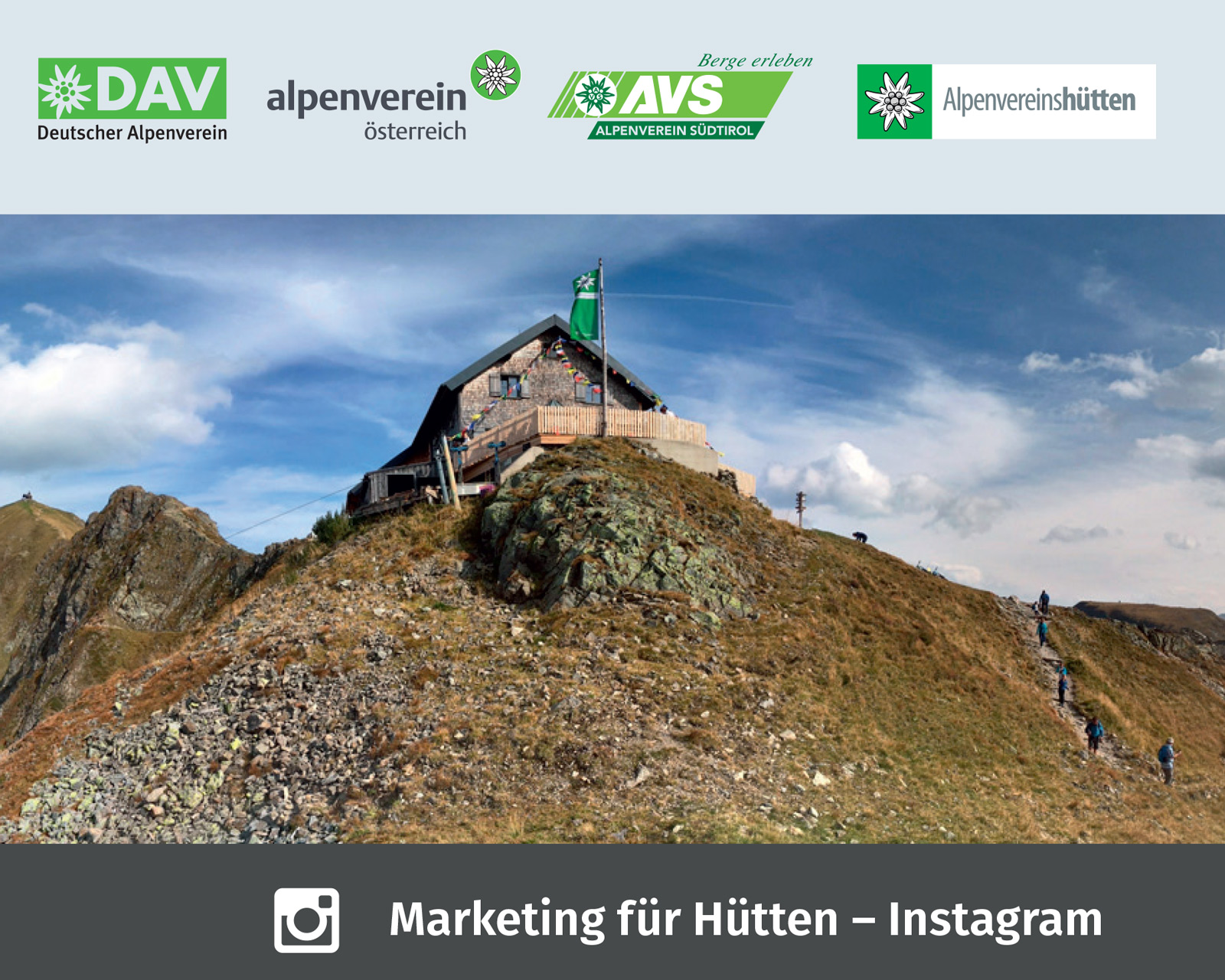 Marketing für Hütten I alpinonline