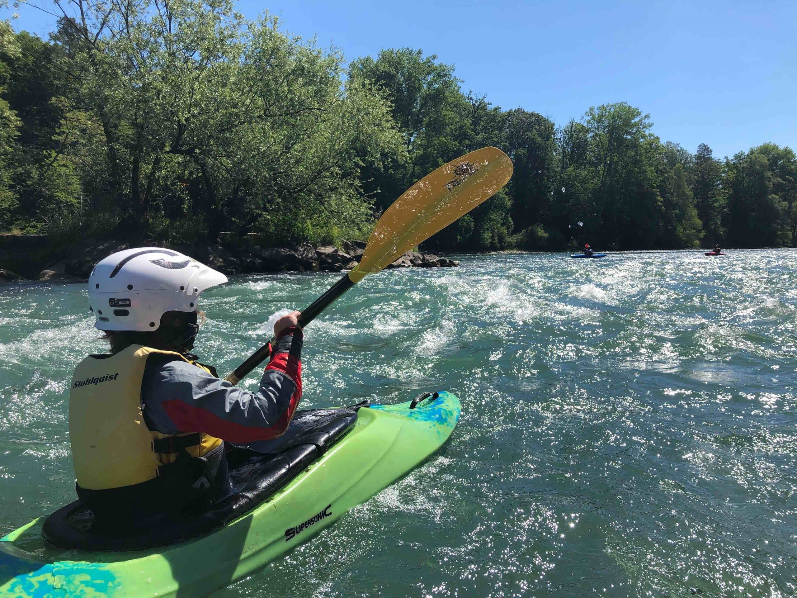 Die Reuss – leichte Schwierigkeit und warmes Wasser I alpinonline