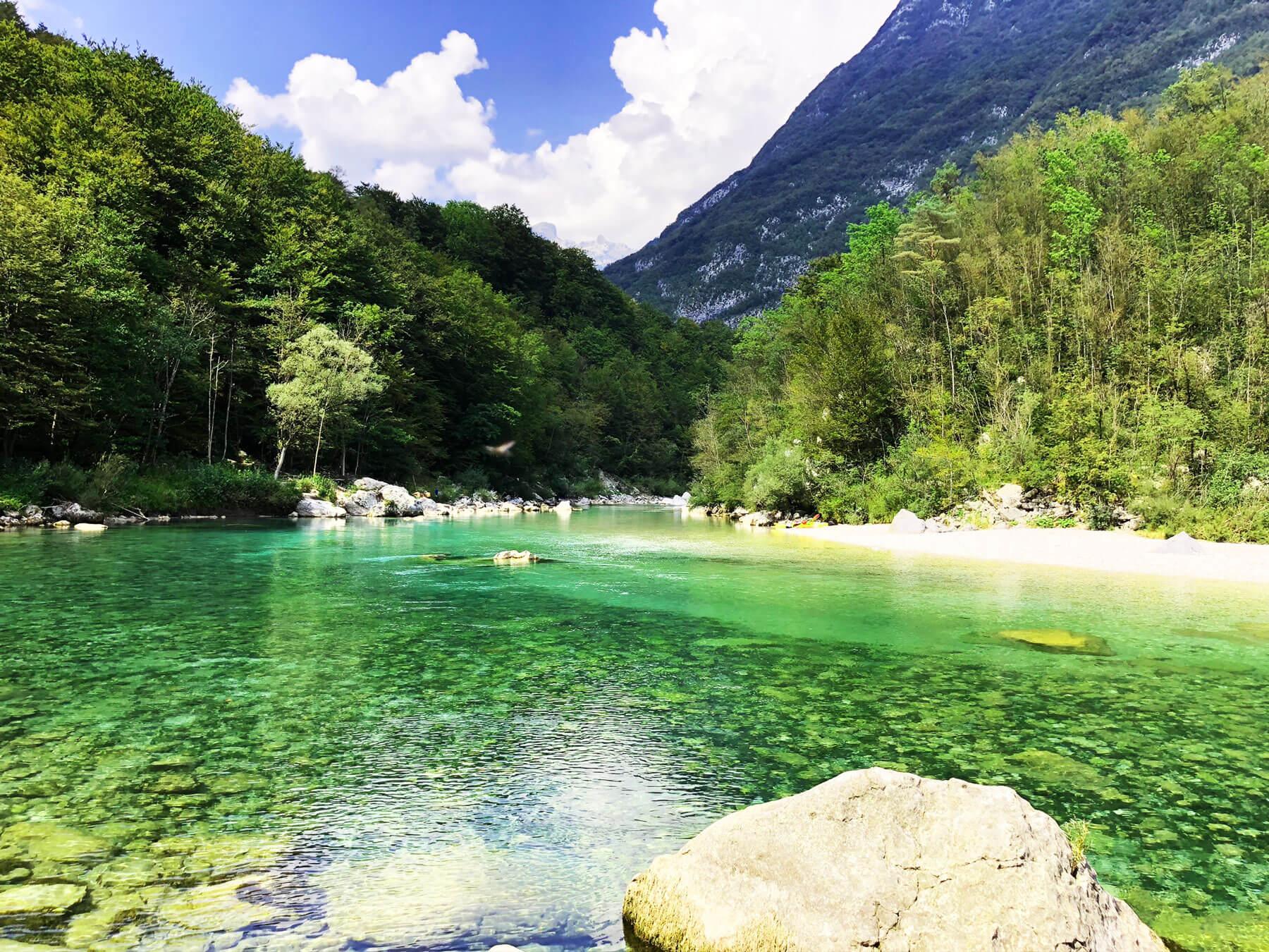 Tipps Soca Biken Wandern Campen I alpinonline