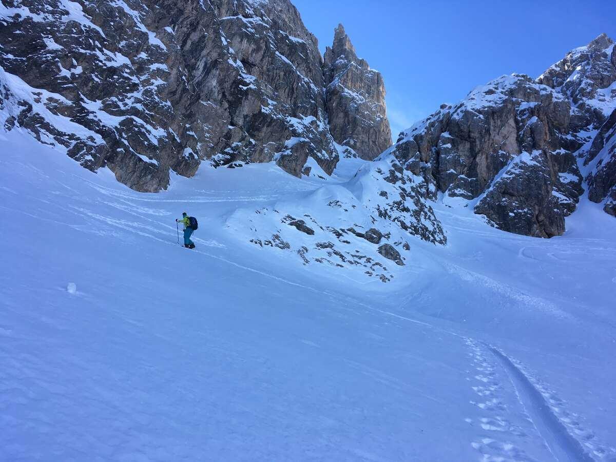 Aufstieg Sentinellascharte I alpinonline