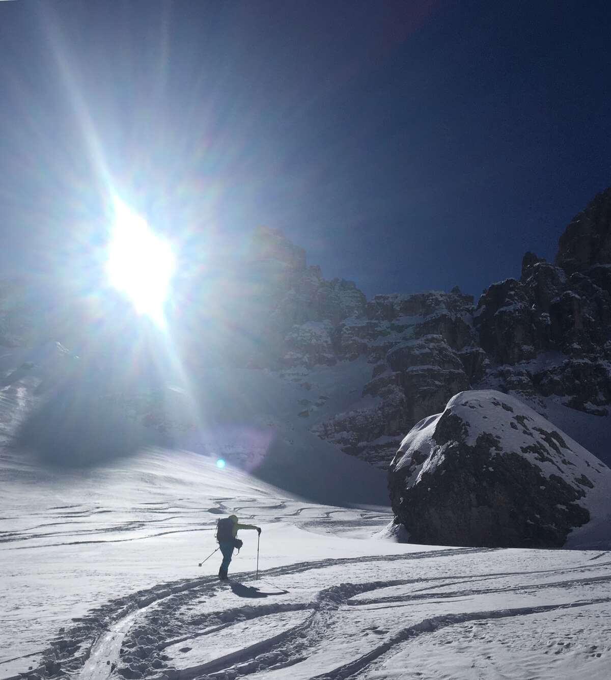 Aufstieg zur Cristallo Scharte I alpinonline