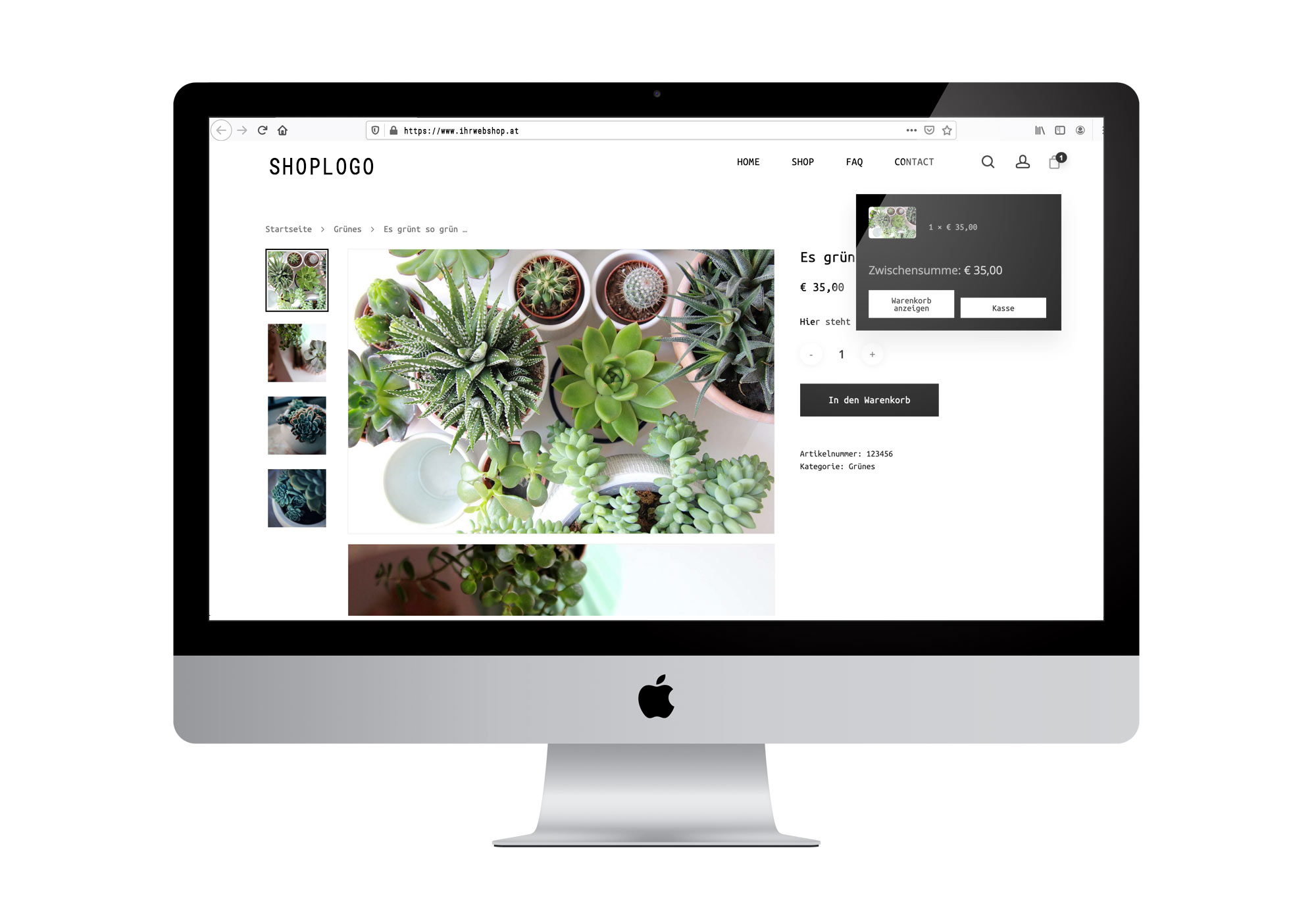 Unser Webshop-Angebot