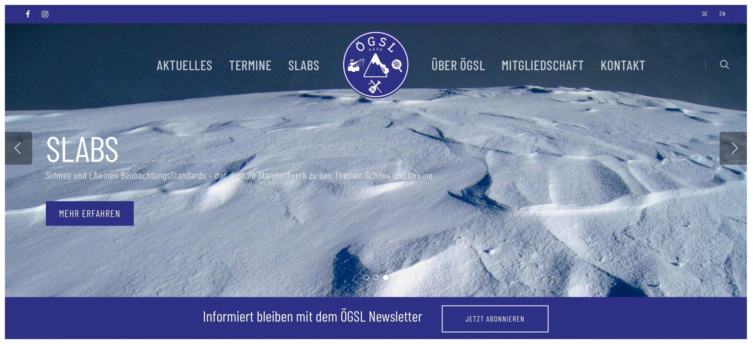 ÖGSL Österreichische Gesellschaft für Schnee & Lawinen I alpinonline
