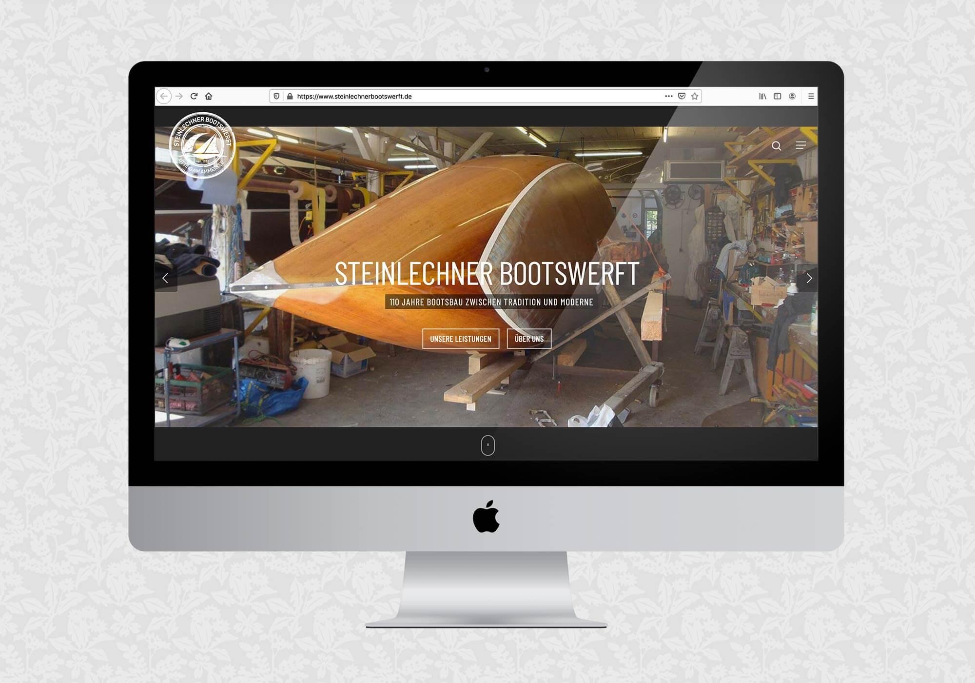 SEO Steinlechner Bootswerft am Ammersee