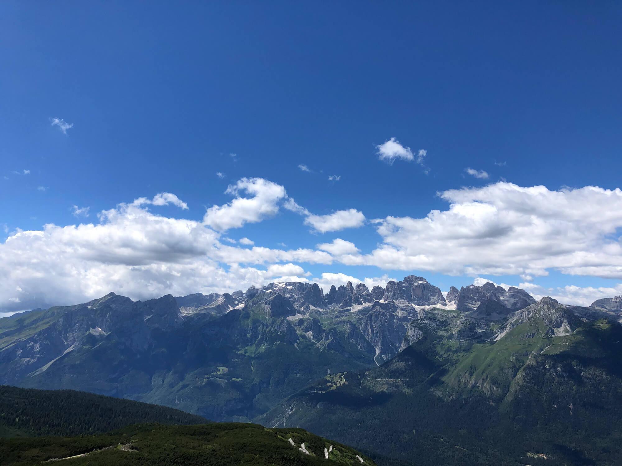 Blick auf die Brentagruppe I alpinonline