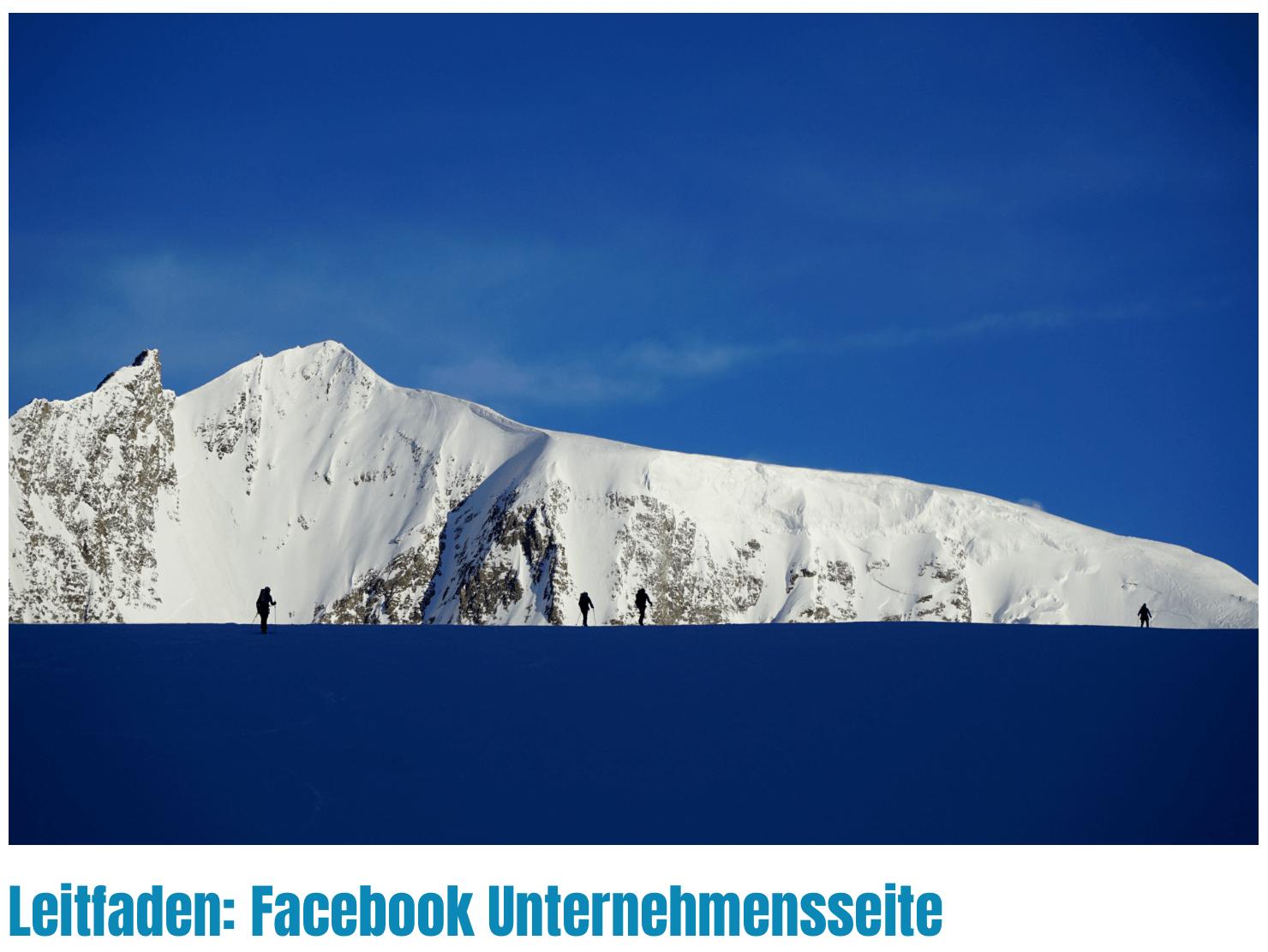 Leitfaden Unternehmensseite Facebook I alpinonline