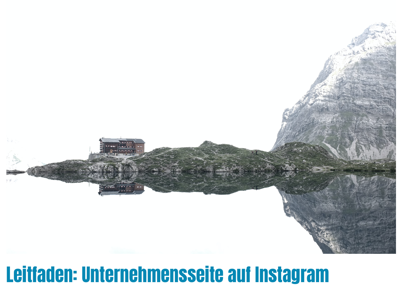 Leitfaden Unternehmensseite Instagram I alpinonline