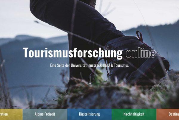 Tourismusforschung KMU Universität Innsbruck I alpinonline
